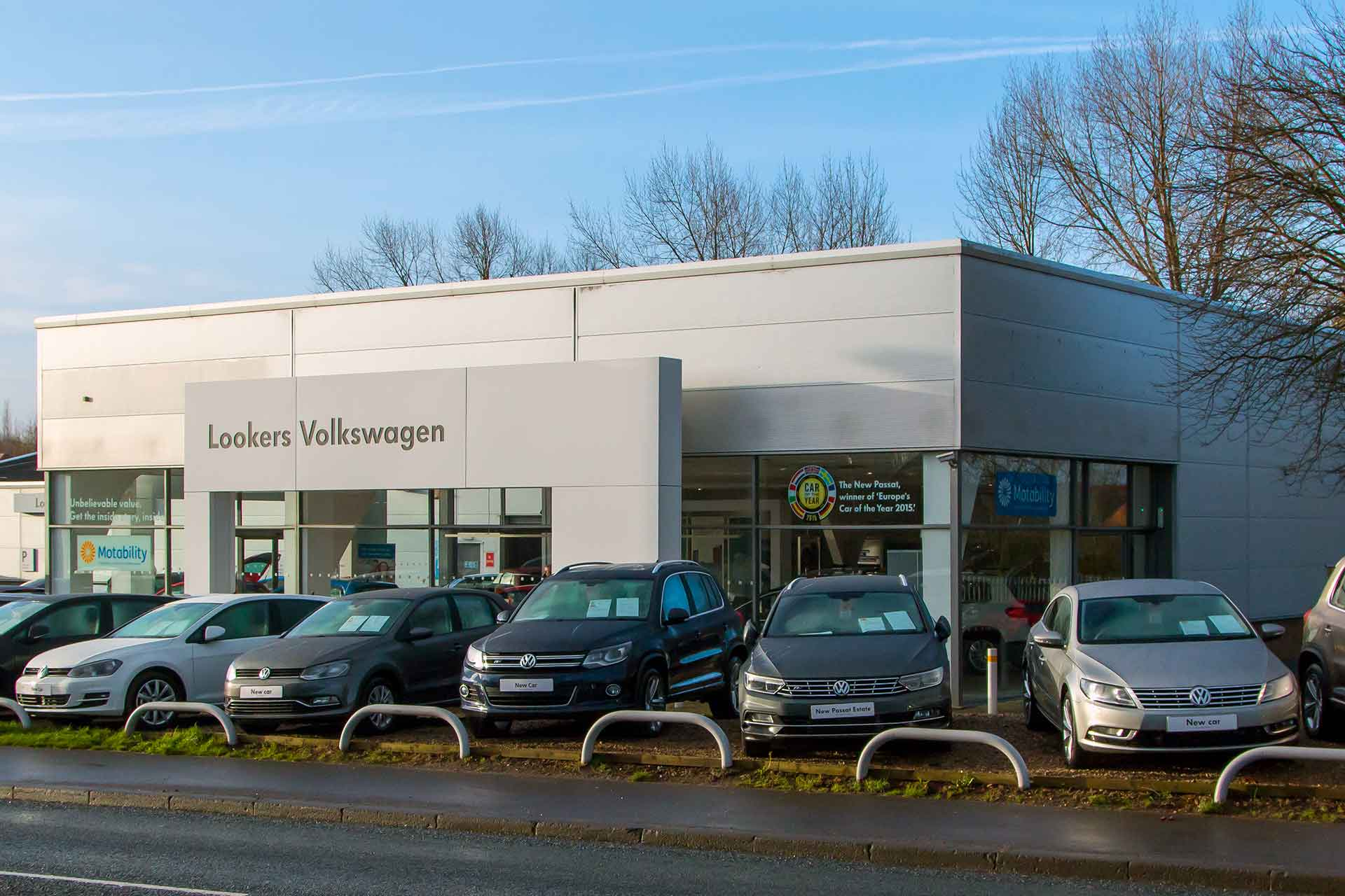 Vw Lookers >> Retail And Offices A S Crocker Plasterers Limited